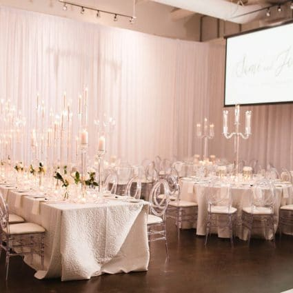 The Warehouse Event Venue featured in Sami and Jordan's Romantic Wedding at The Warehouse Event Venue