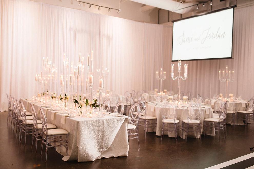 Sami and Jordan's Romantic Wedding at the Warehouse Venue