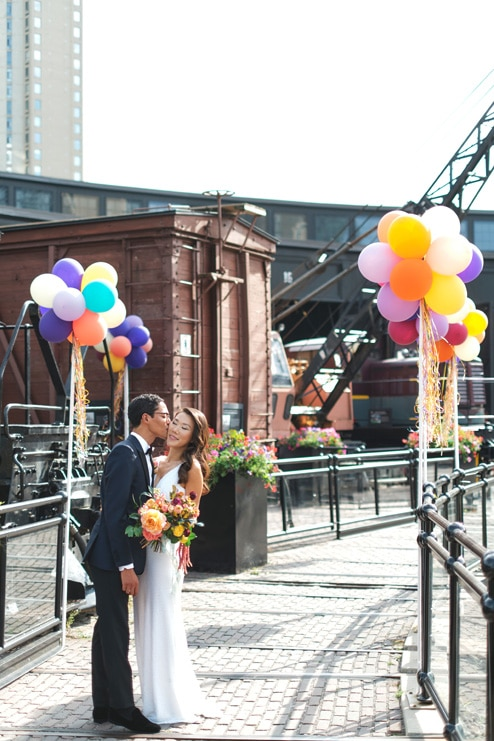 Wedding at Steam Whistle Brewery, Toronto, Ontario, Luminous Weddings, 27