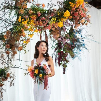 """Rosehill Blooms featured in In Service of Love Contest Winners Youn Sun and Arnell Say """"I…"""