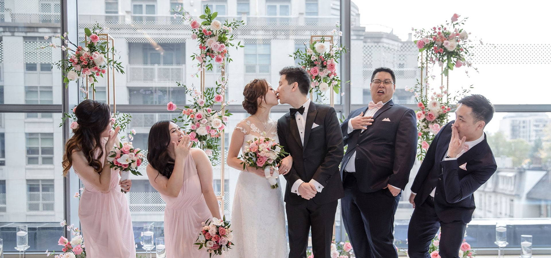 Hero image for Stephanie and Teddy's Magical Wedding at The Four Seasons