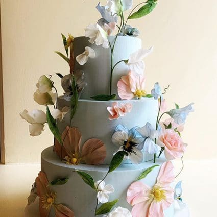 Finespun Cakes & Pastries featured in Where to Get a Wedding Cake in Toronto for Your Intimate Wedding