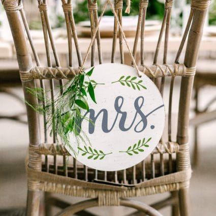 Contemporary Furniture Rentals featured in Shannon and Mike's Romantic Nuptials at Evergreen Brick Works