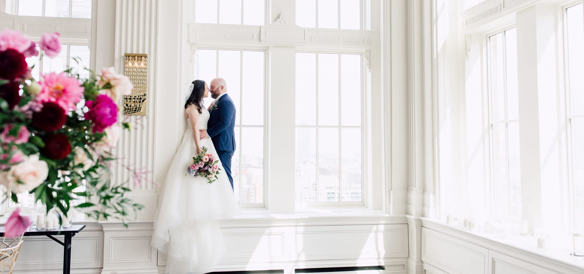 Hero image for Alessandra and Michael's Luxurious Nuptials at the King Edward Hotel