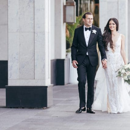 Chateau Le Parc featured in Jessica and Anthony's Luxurious Wedding at Chateau Le Parc