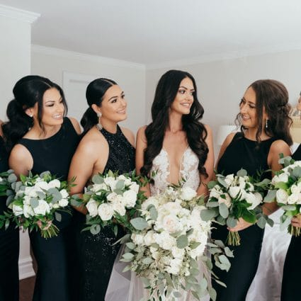 Blush Events featured in Jessica and Anthony's Luxurious Wedding at Chateau Le Parc