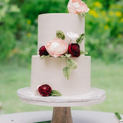 Cakeity Cakes featured in Where to Get a Wedding Cake in Toronto for Your Intimate Wedding