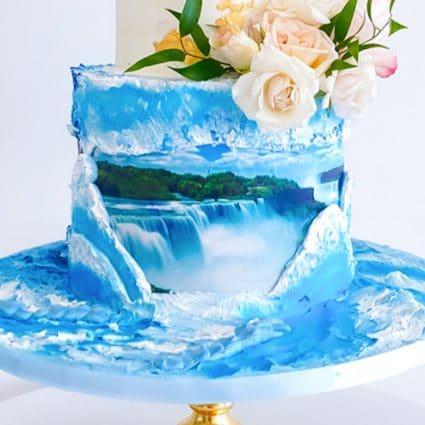 Fruitilicious Cakes featured in Where to Get a Wedding Cake in Toronto for Your Intimate Wedding