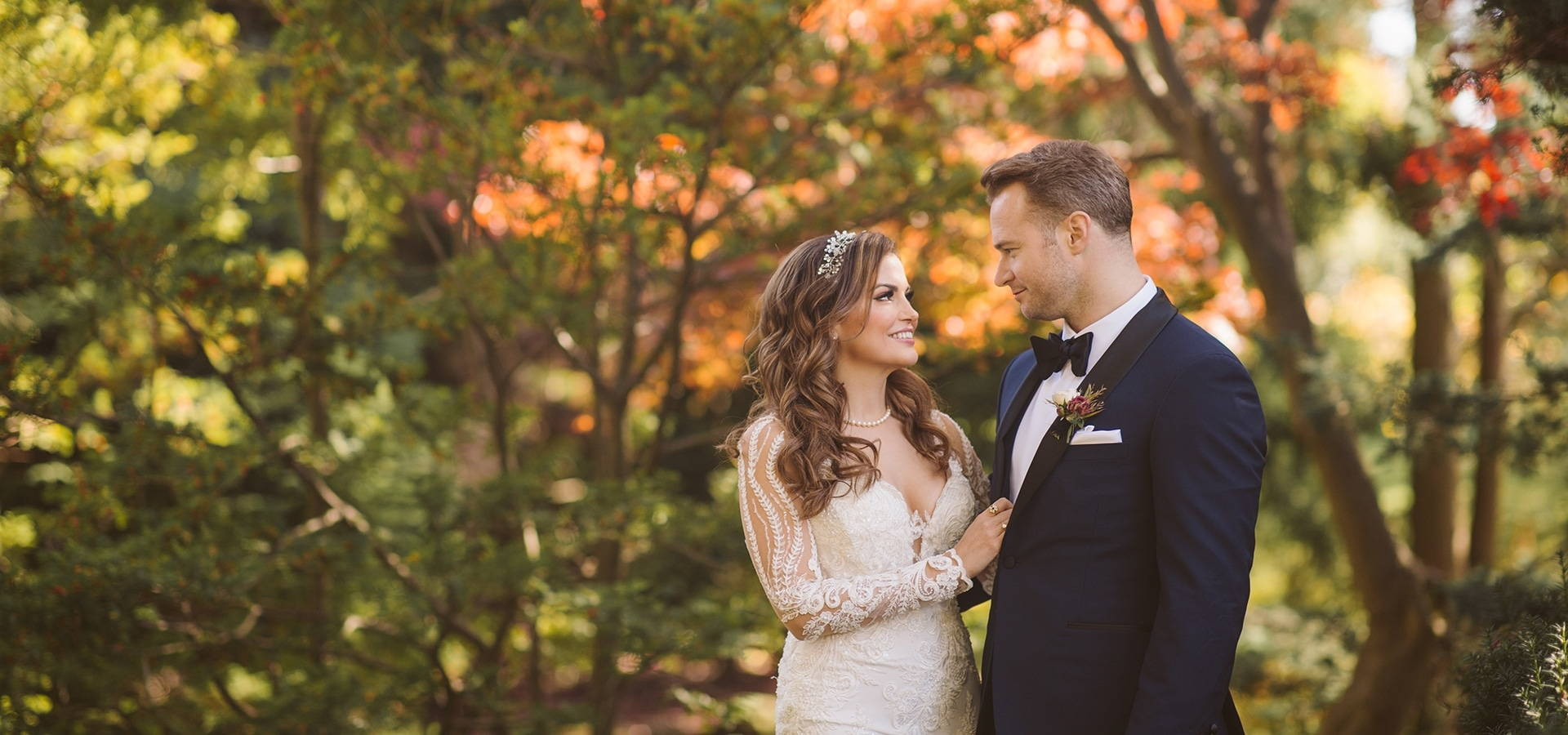Hero image for Shannon and Tyler's Gorgeously Glam Wedding at Graydon Hall Manor