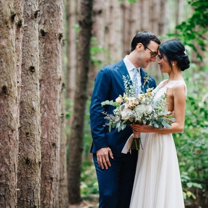 Toronto Wedding Studios featured in Linda and Jim's Rainy Day Wedding at Kortright Event Centre f…