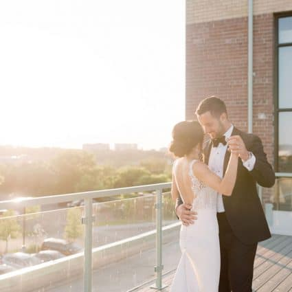 The Symes featured in Jessica and Matt's Bright Big Day at The Symes