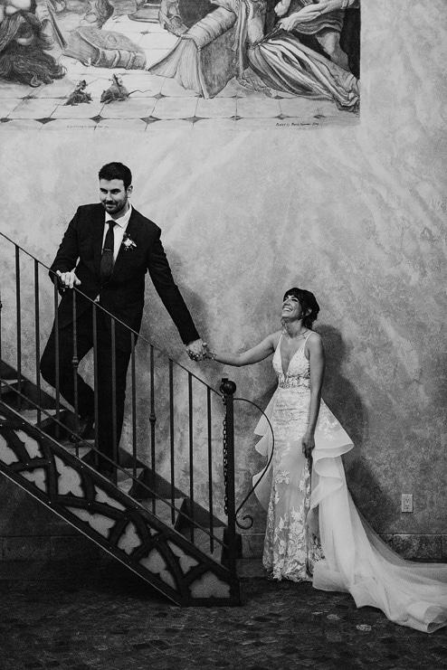 Sam and Chris' Romantic Nuptials at Hacienda Sarria