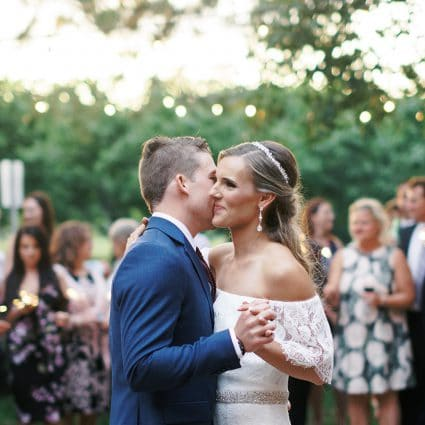 Caileigh Langford featured in Rebecca and Daniel's Lovely Wedding at Kurtz Orchards