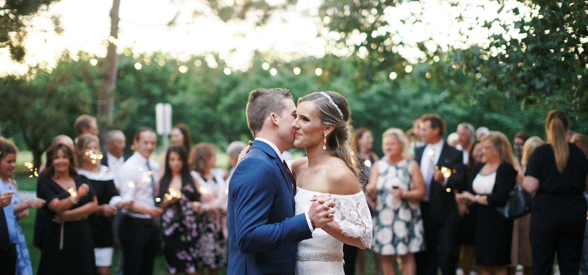 Hero image for Rebecca and Daniel's Lovely Wedding at Kurtz Orchards