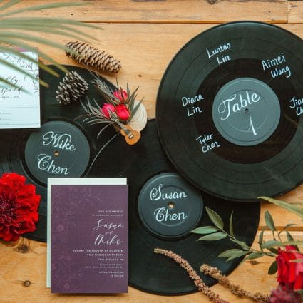 Jaye Designs featured in Susan and Mike's Micro Wedding at Holland Marsh Wineries