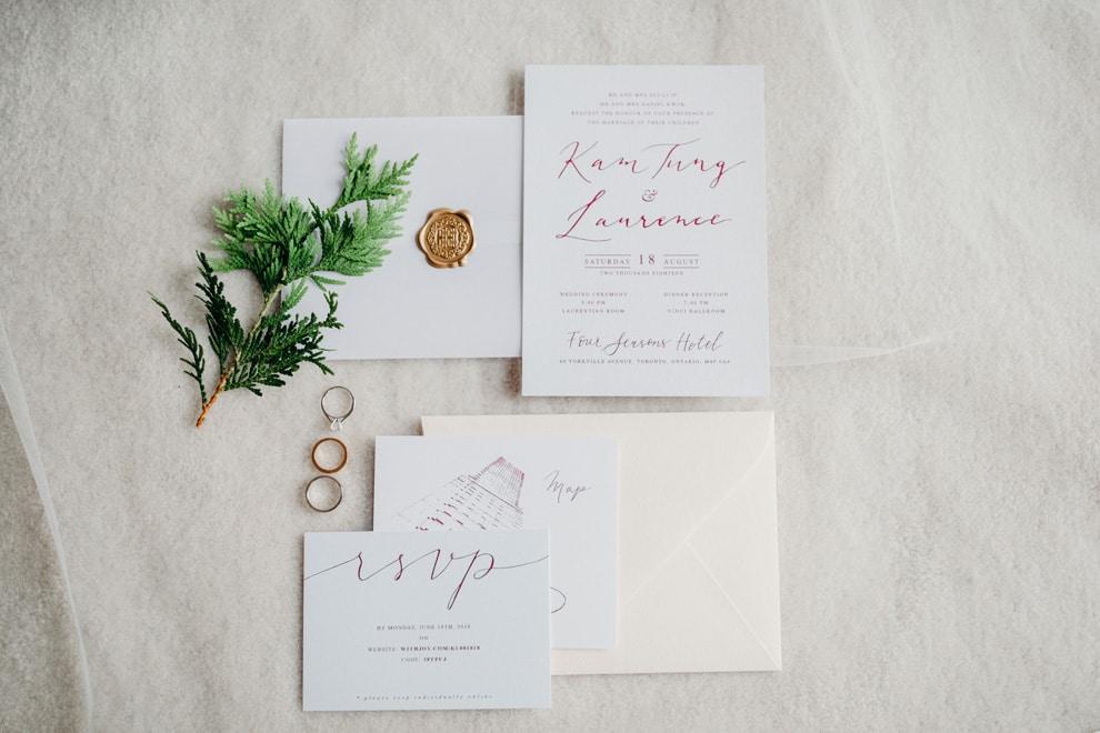 Wedding at Four Seasons Hotel Toronto, Toronto, Ontario, Lindsie Grey, 1
