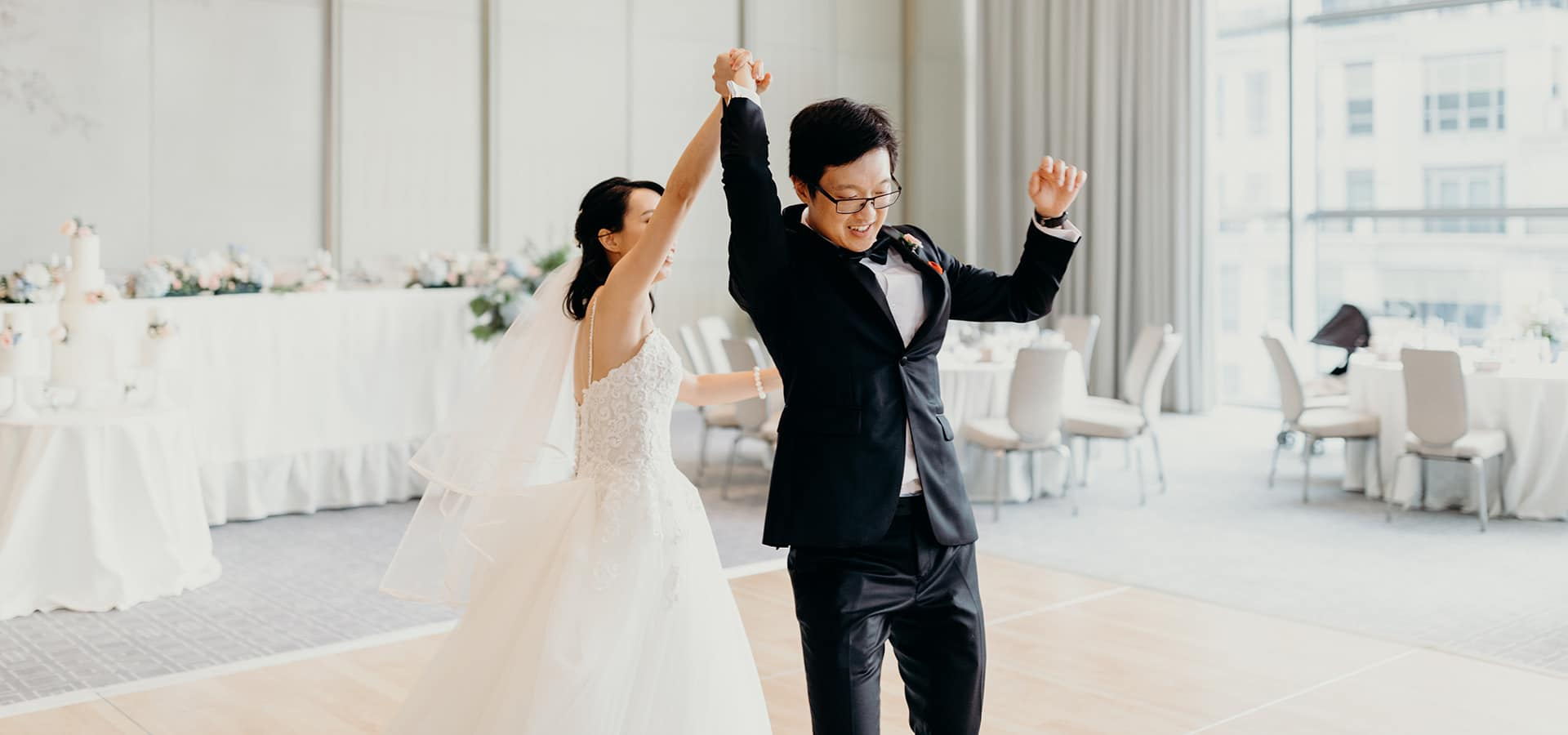 Hero image for Kam and Laurence's Sweet Wedding at the Four Seasons Hotel