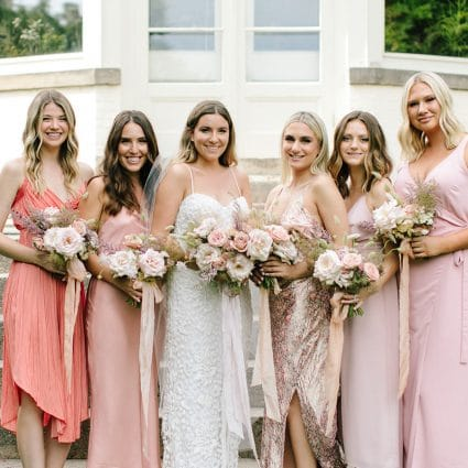 Thumbnail for 5 Tips to Flawlessly Pull Off Mismatched Bridesmaid Dresses