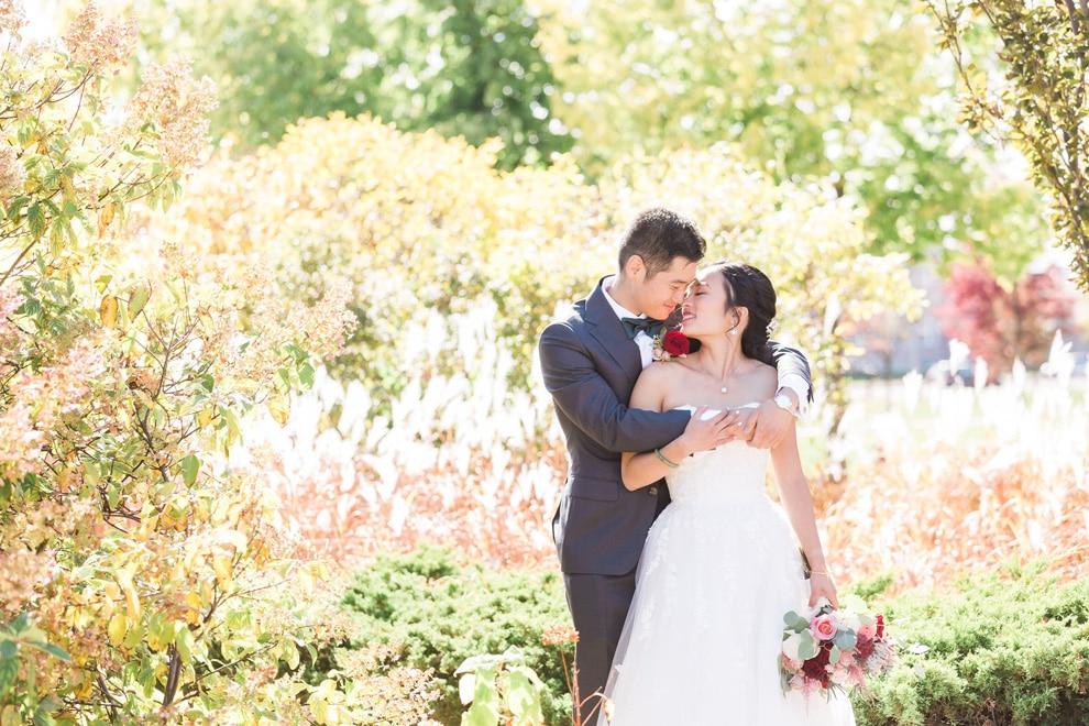 Colourful Backyard Wedding