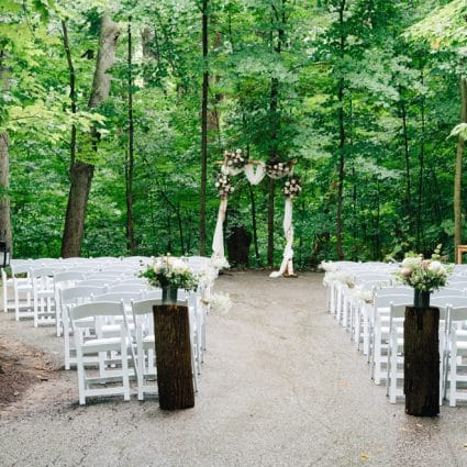 Kortright Eventspace featured in Linda and Jim's Rainy Day Wedding at Kortright Event Centre f…