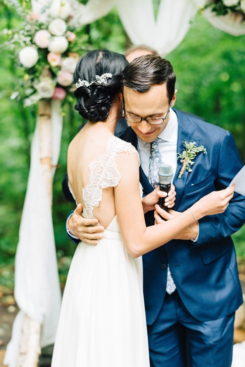 Linda and Jim's Rainy Day Wedding at Kortright Event Centre for Conservation