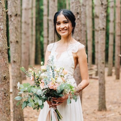 Willem & Jools featured in Linda and Jim's Rainy Day Wedding at Kortright Event Centre f…