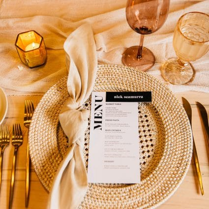 Simply Beautiful Decor featured in Katie and Phil's Gorgeous Wedding at Elora Mill