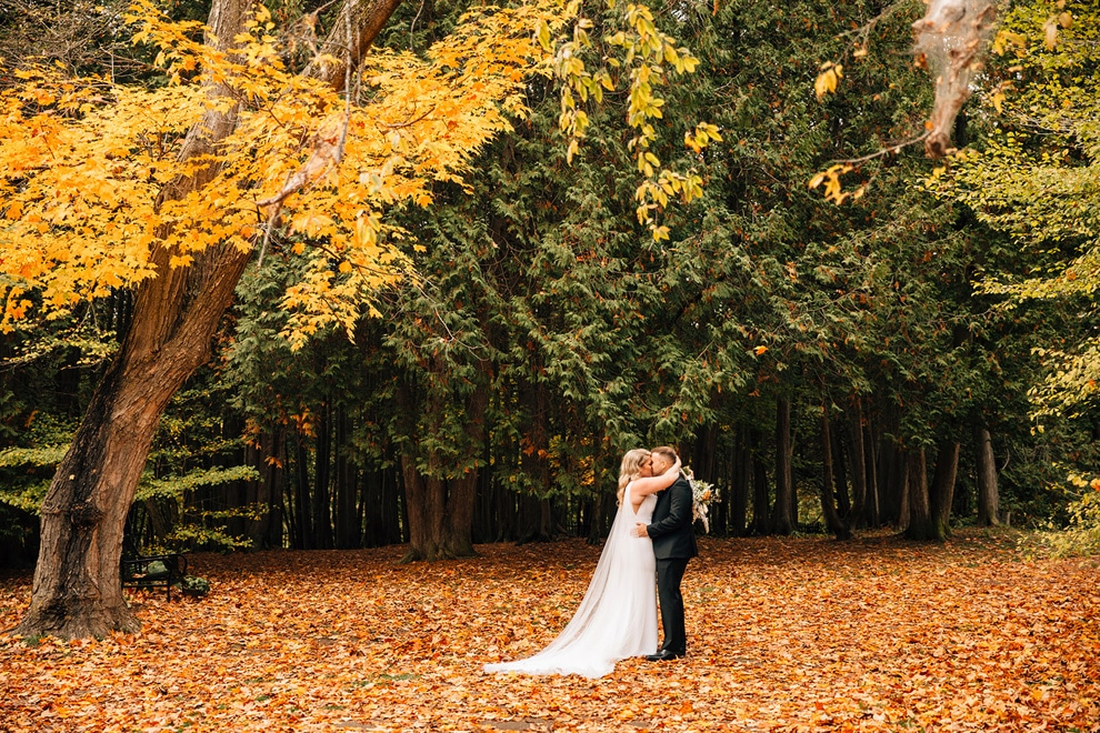 Katie and Phil's Gorgeous Wedding at Elora Mill