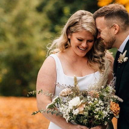 Good Vibrations featured in Katie and Phil's Gorgeous Wedding at Elora Mill