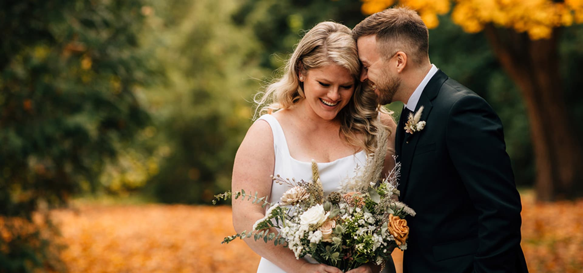 Hero image for Katie and Phil's Gorgeous Wedding at Elora Mill
