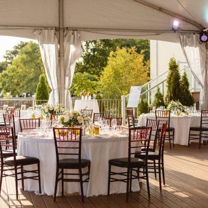 Designed Dream Events featured in Anastasia and Daniel's Palais Royale Micro Wedding