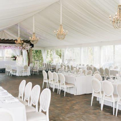 The Arlington Estate featured in Ashley and Cliten's Outdoor Wedding at the Arlington Estate