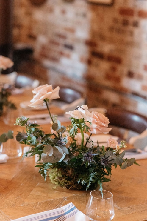 Lia and Taylor's Intimate Wedding at Cluny Bistro & Boulangerie