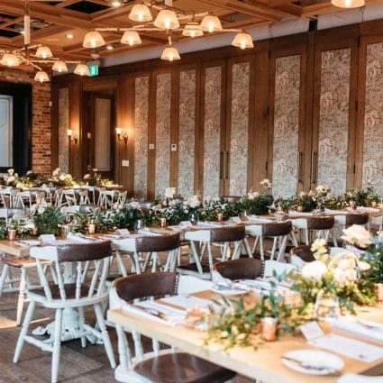 Cluny Bistro featured in Lia and Taylor's Intimate Wedding at Cluny Bistro & Boulangerie