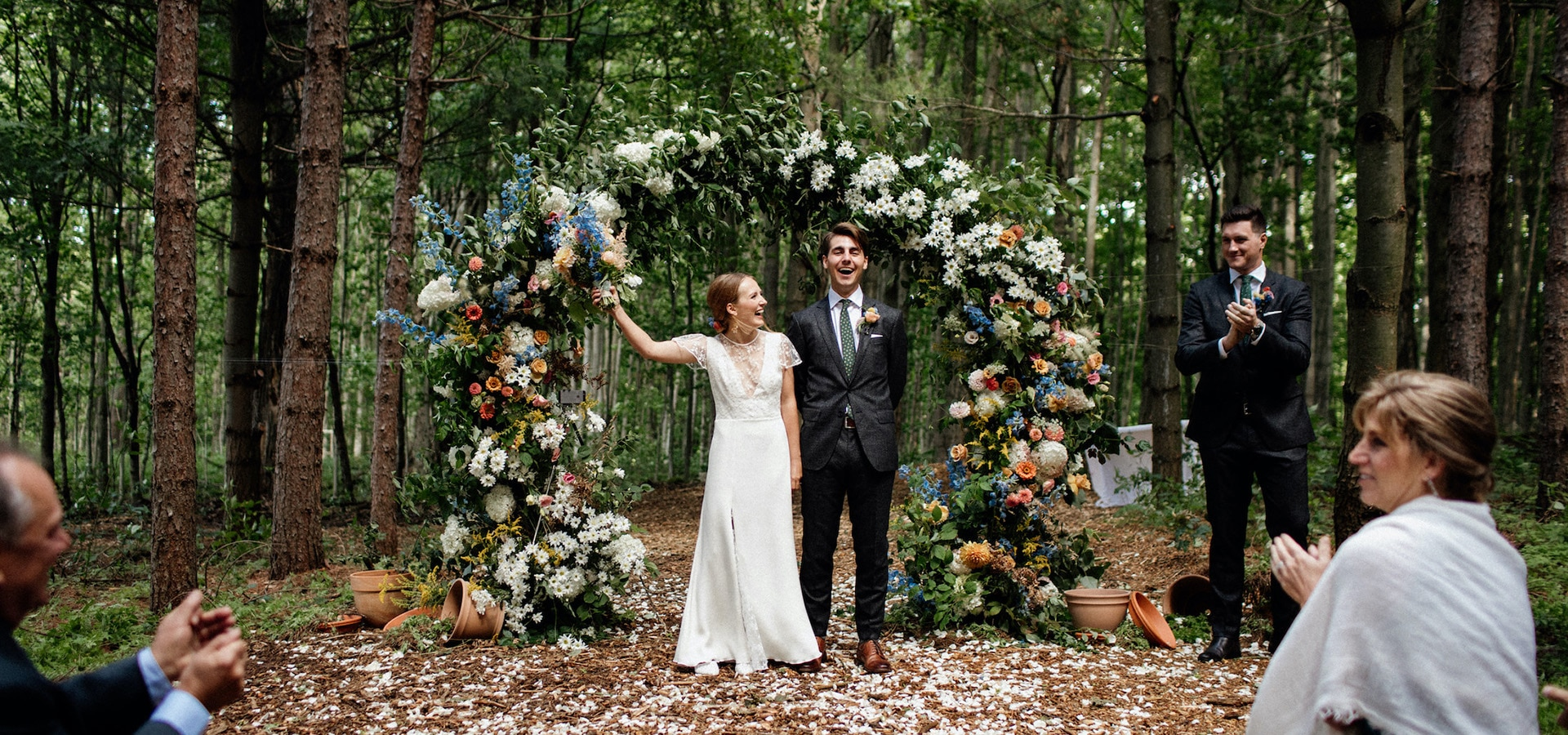 Hero image for 10 Ways to Plan a Magical Outdoor Wedding in the Forest