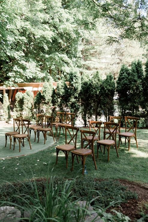 Sweet Backyard Wedding