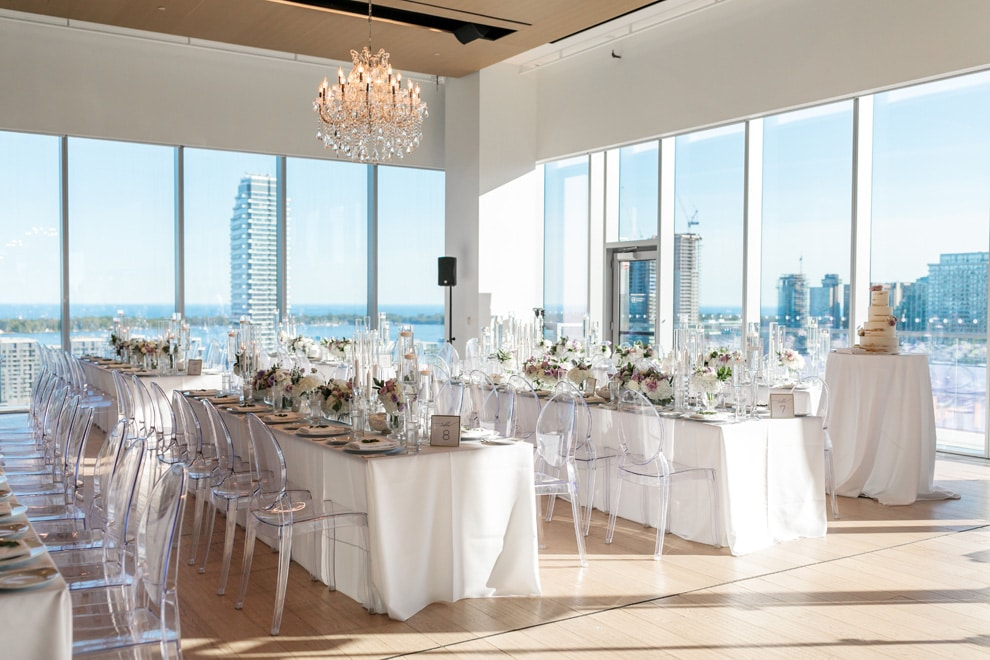 Candice and Cory's Stunning Wedding at The Globe and Mail Centre