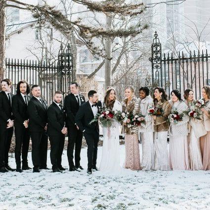Thumbnail for Kara and Michael's Romantic Winter Wedding at Liuna Station