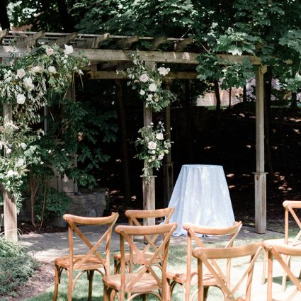 StereoFlavour Entertainment featured in Lauren and Kane's Super Sweet Backyard Wedding