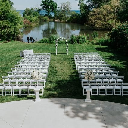 Harding Waterfront Estate featured in 12 Outdoor Wedding Venues with Gorgeous Views