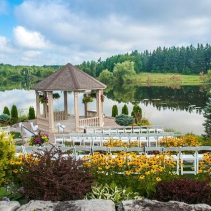 Royal Ambassador Event Centre featured in 12 Outdoor Wedding Venues with Gorgeous Views