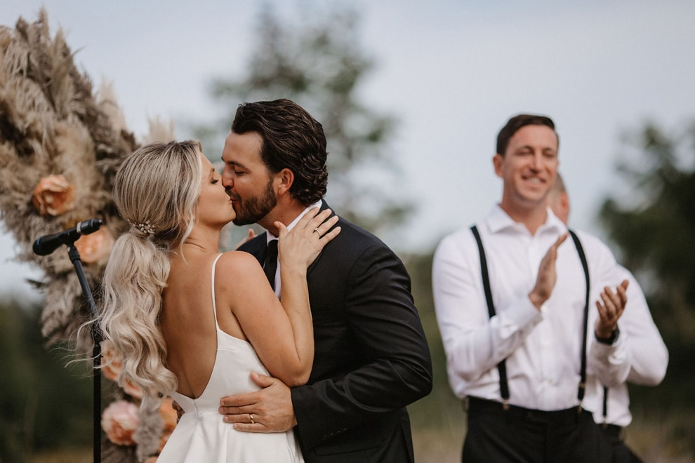 6 tips on making sure your first kiss as a married couple isnt awkward, 5