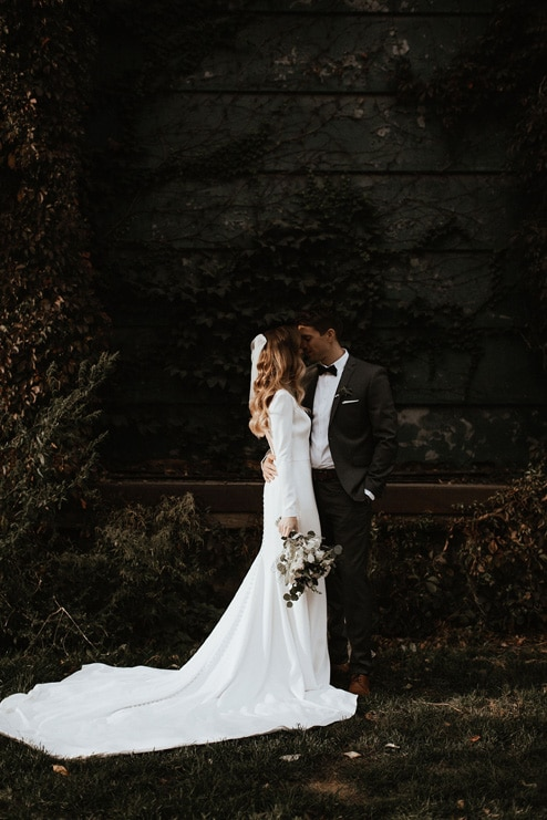 Nadine and Curtis' Romantic Wedding at Archeo