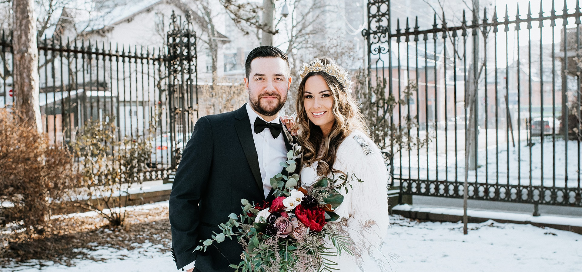 Hero image for Five Ways to Prep for Your Snowy Wedding Day