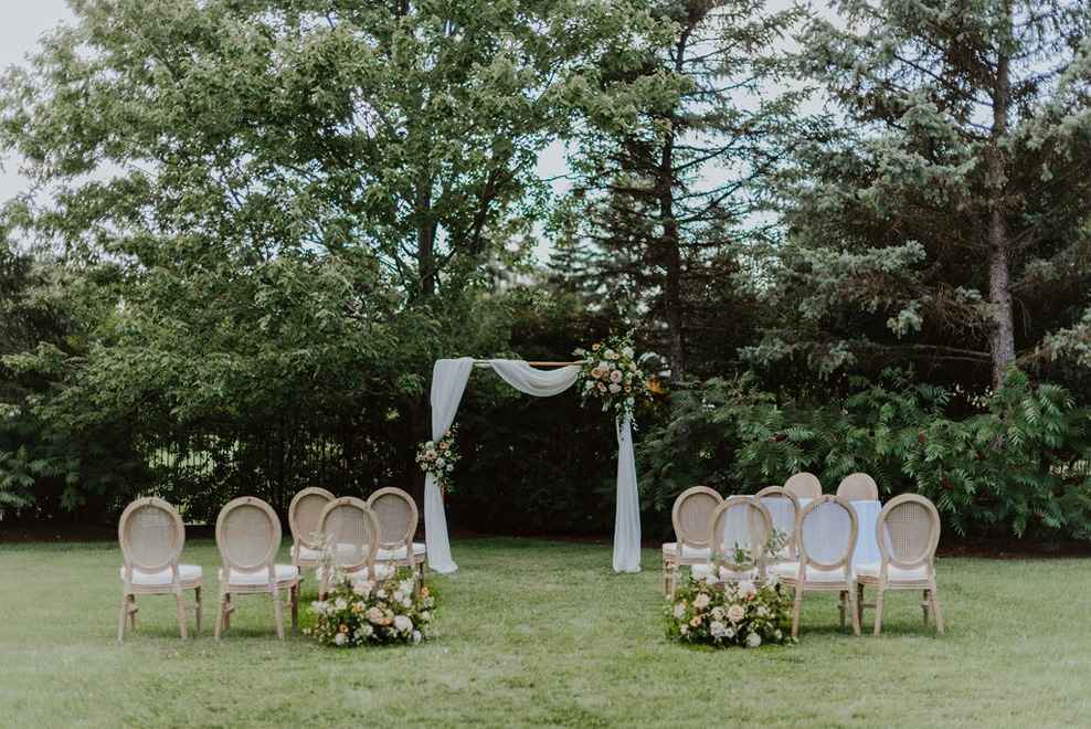 Dreamy Inspiration for an Outdoor Intimate Wedding