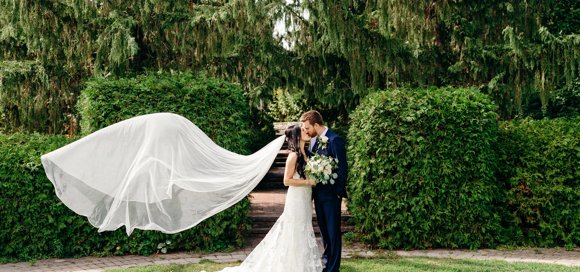 Hero image for Cheryl and Chris' Romantic Summer Wedding at Archeo