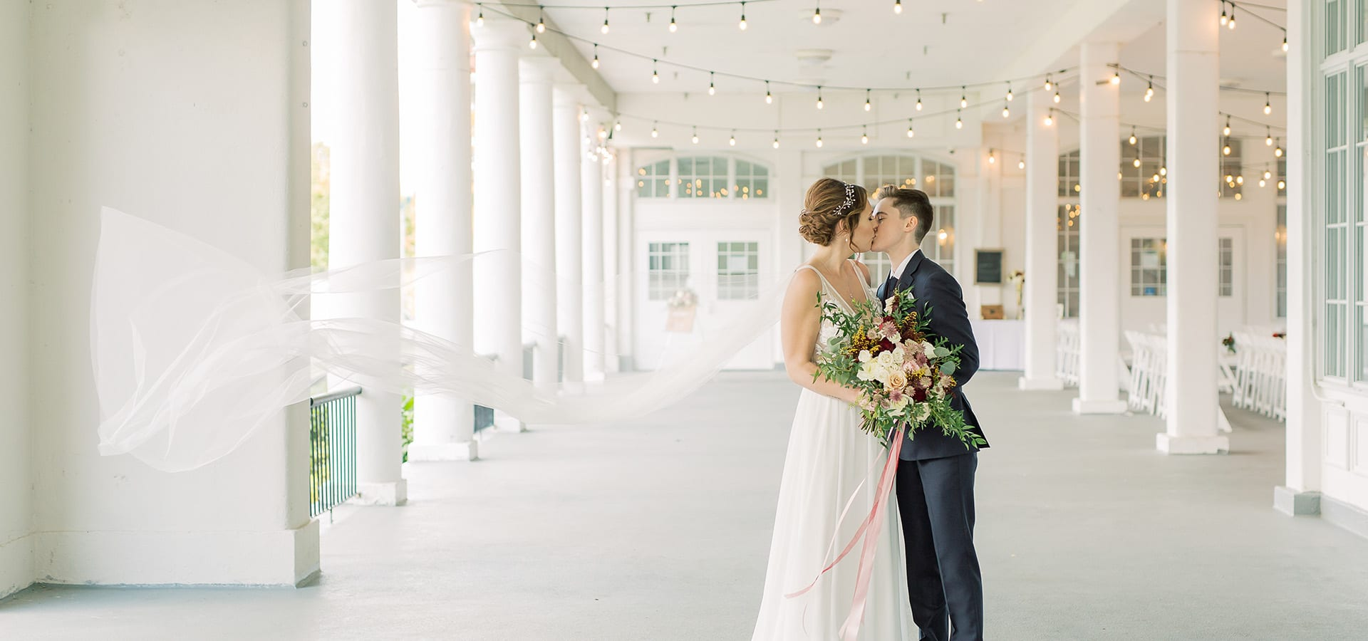 Hero image for Jessie and Jess' Intimate Ceremony at LaSalle Banquet Centre