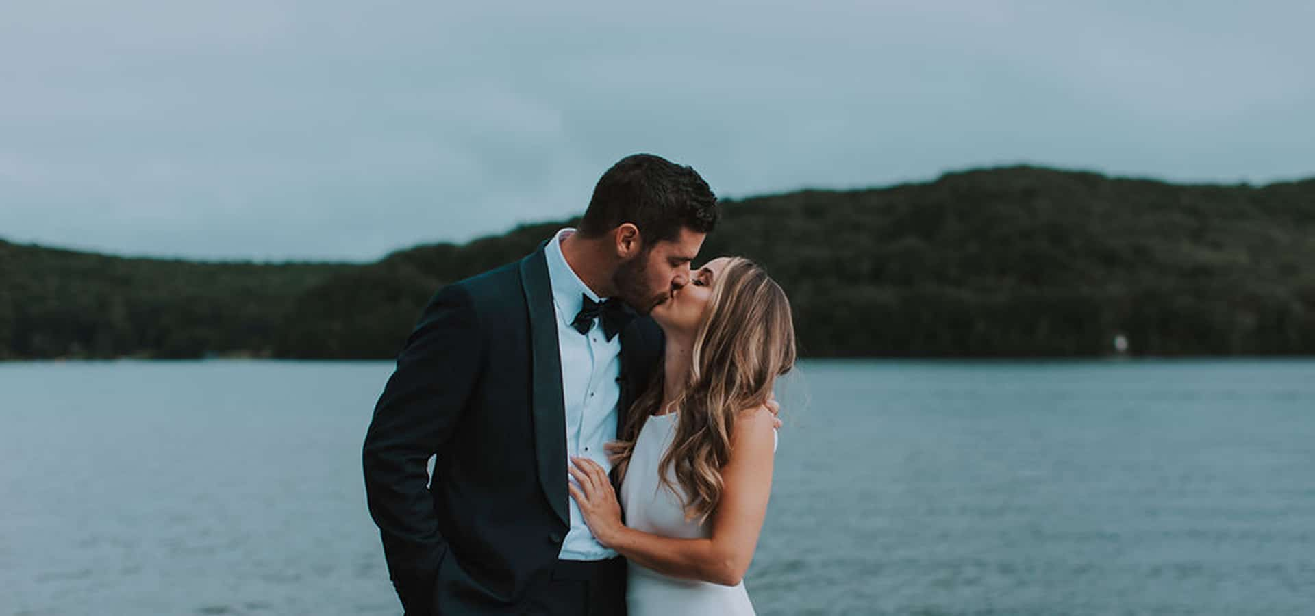Hero image for Cydney and Jay's Sweet Summer Cottage Wedding