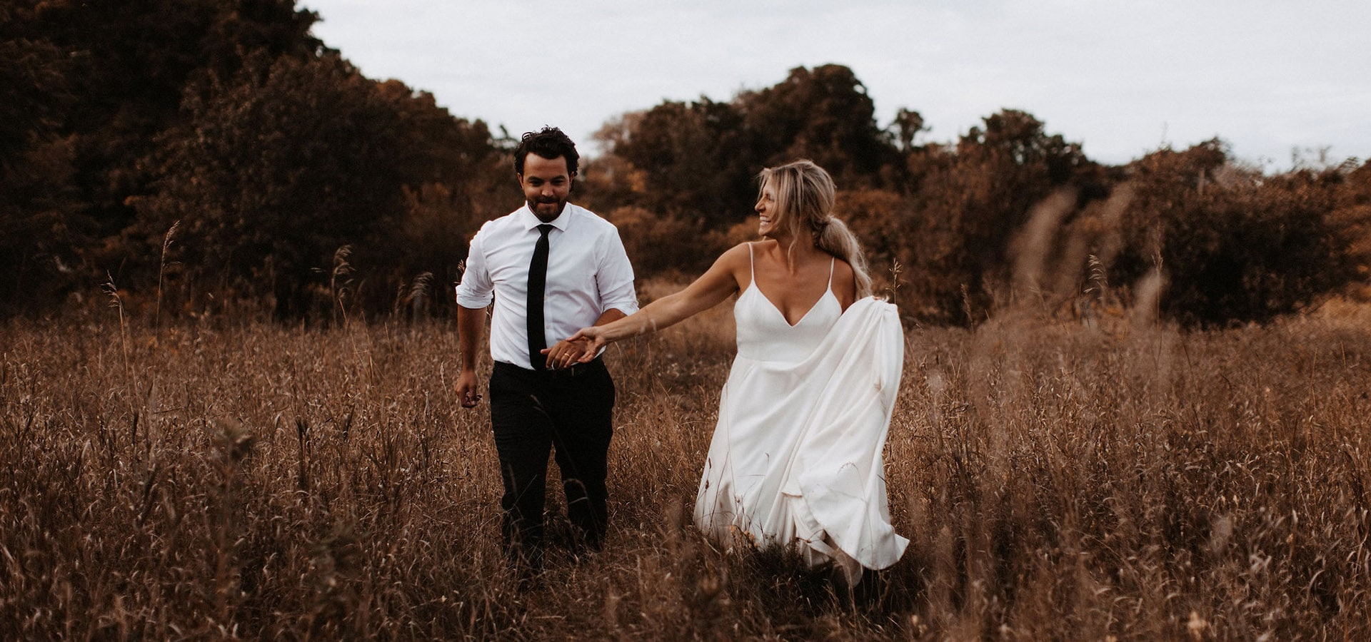 Hero image for Mike and Kaitlin's Boho-Chic Summer Nuptials