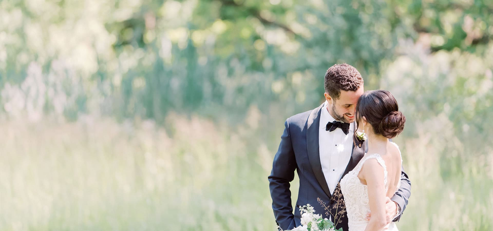 Hero image for Jessica and Matt's Bright Big Day at The Symes